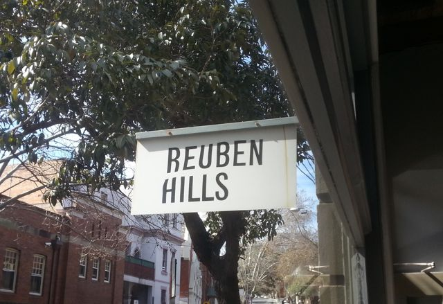 Brunching at Reuben Hills