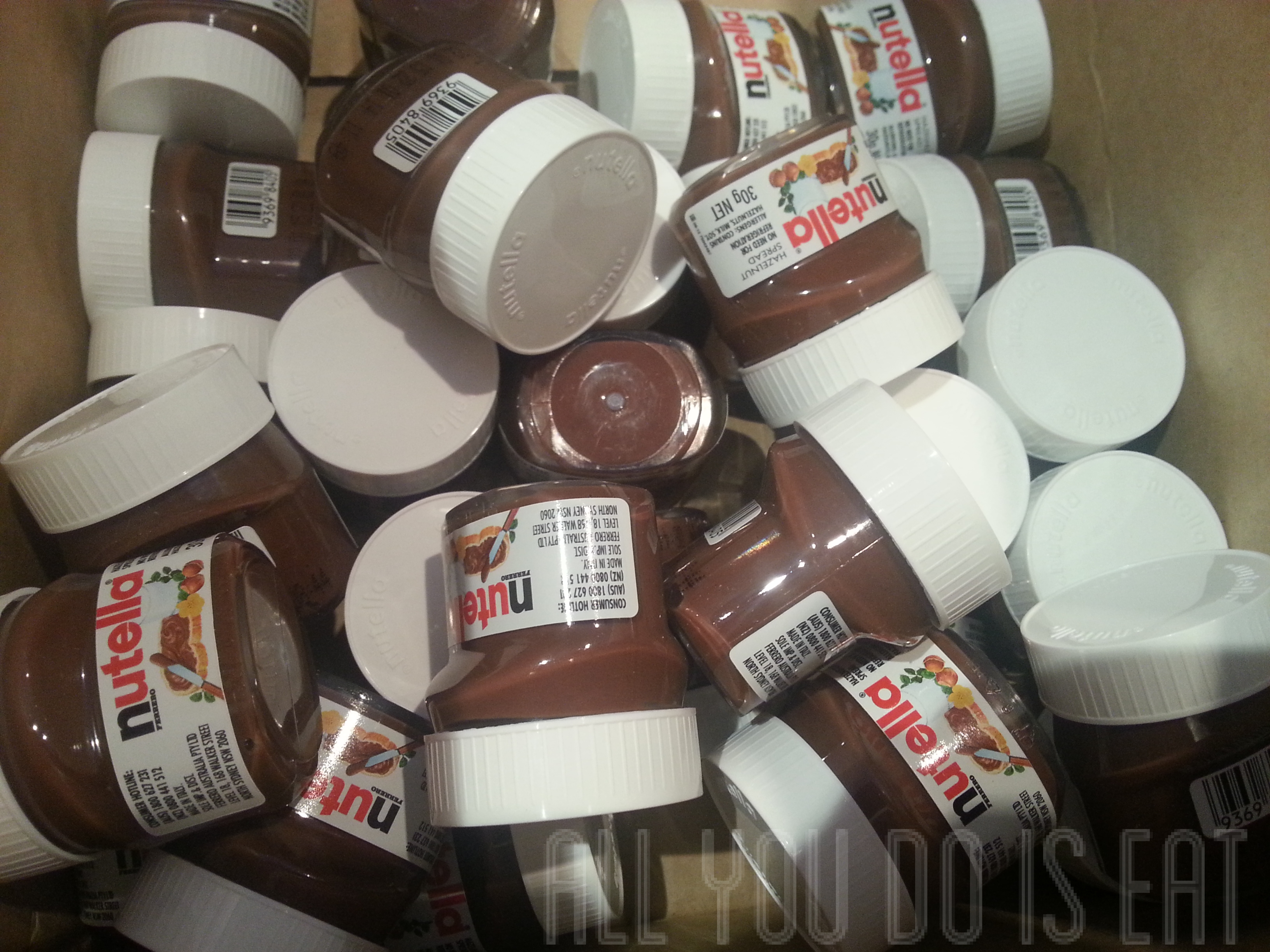 The Great Nutella Giveaway