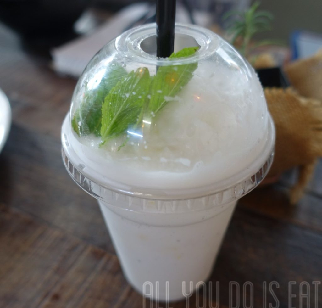 Coconut Frappe at Great Aunty Three - Vietnamese Street Food