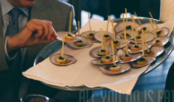 Scallops - Foodie Wedding Canapes
