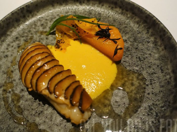 Lobster at the Ledbury