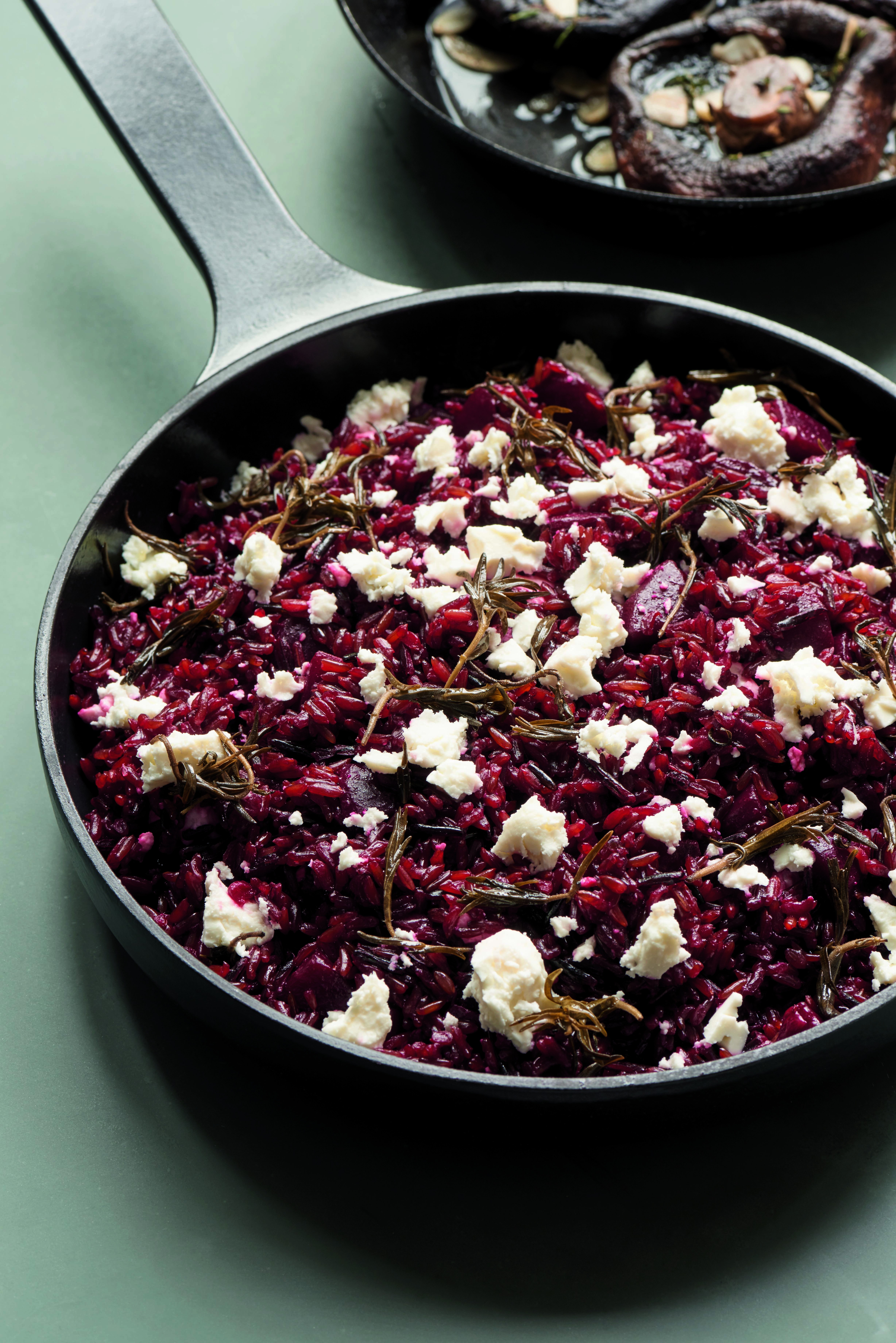 Ed Smith's Red Rice with Beetroot, Feta and Wild Oregano